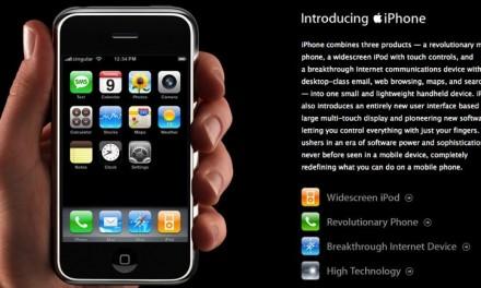 Happy Anniversary iPhone!