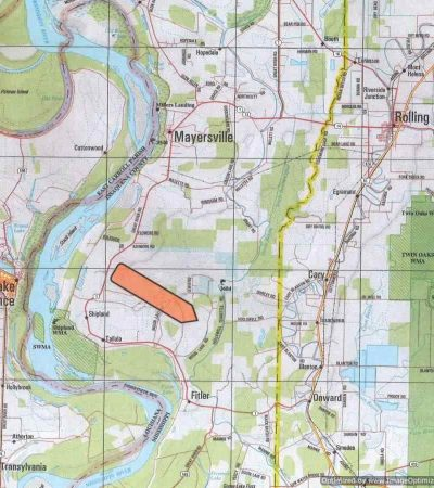 1,285 Acre Deer and Duck Tract in Issaquena County